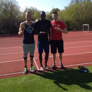Usain Bolt in München