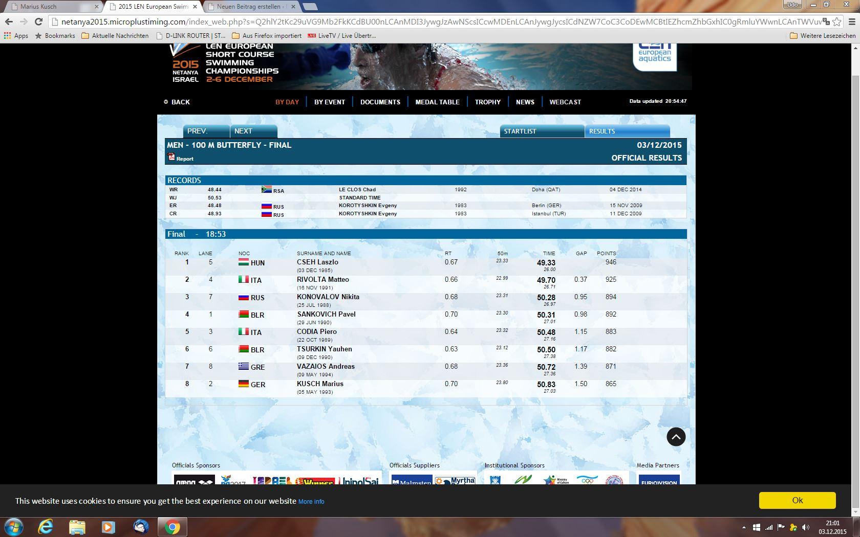 100 m halbfinale