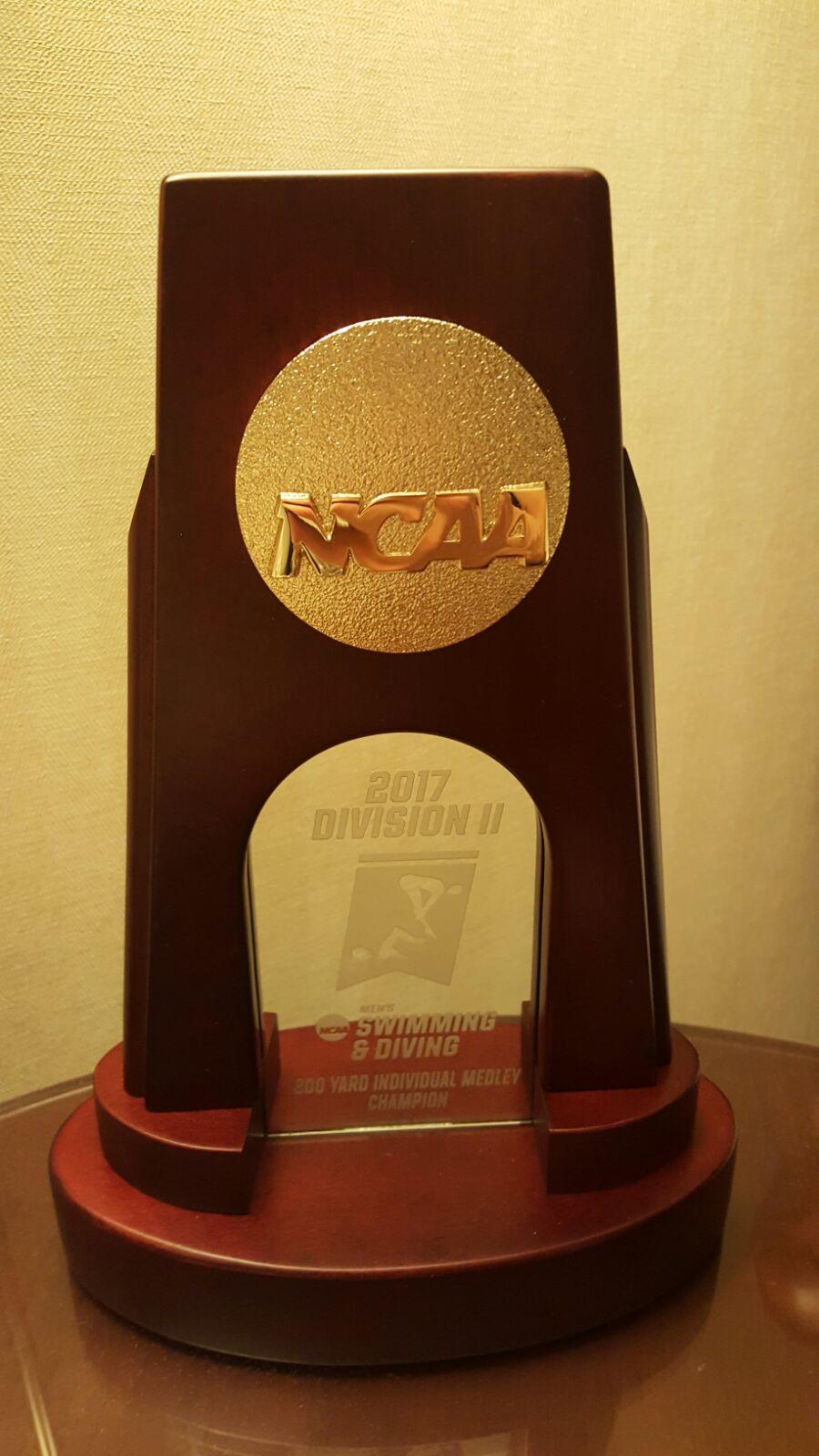 3facher NCAA DII Meister